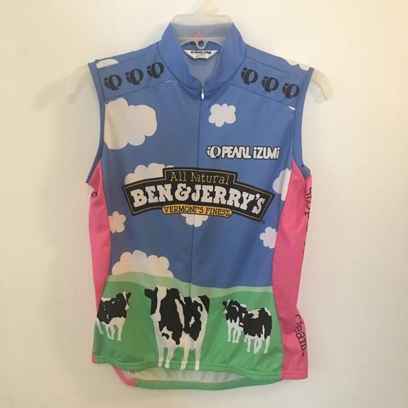Pearl Izumi Ben   Jerry s Cycling Jersey Vest. M 5b746620e9ec89b33c0e4ce6.  Other Jackets   Coats ... 7e5d21256